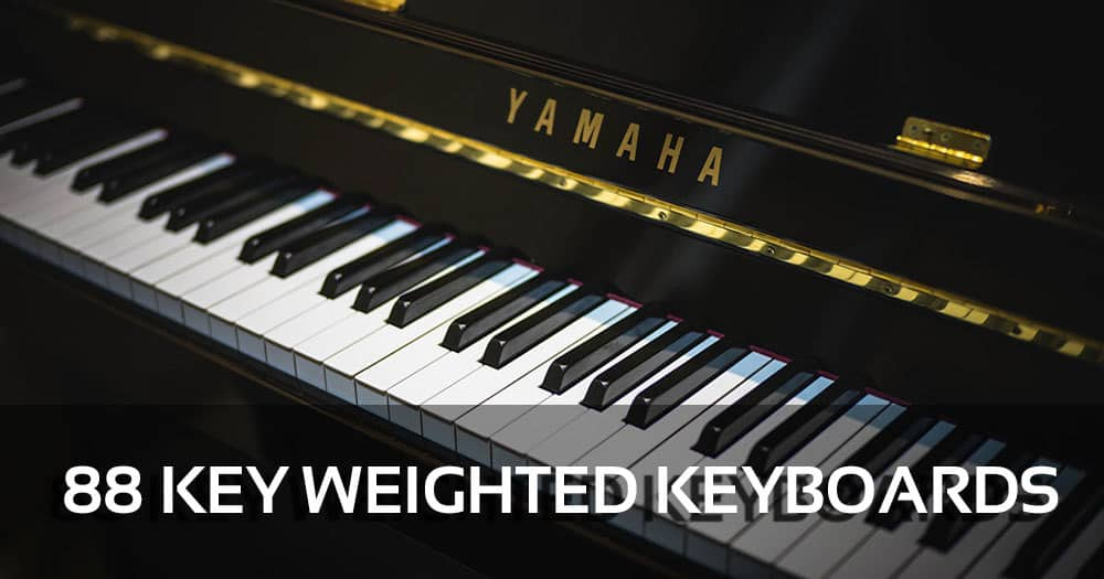 88 Key Weighted Keyboards