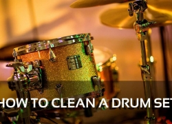 How to Clean a Drum Set